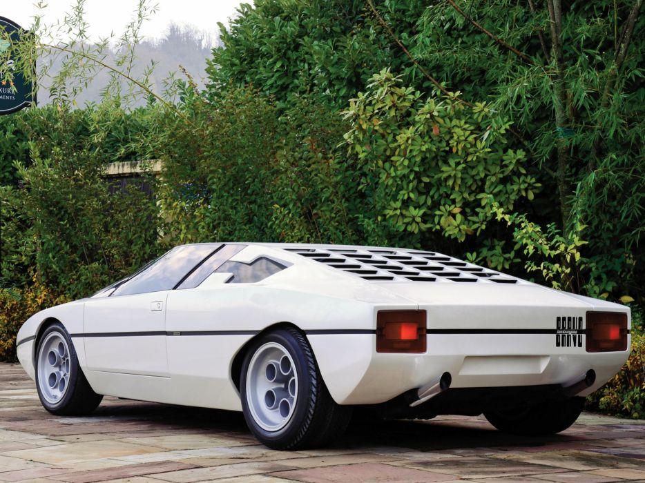 1974 Lamborghini Bravo Concept supercar wallpaper