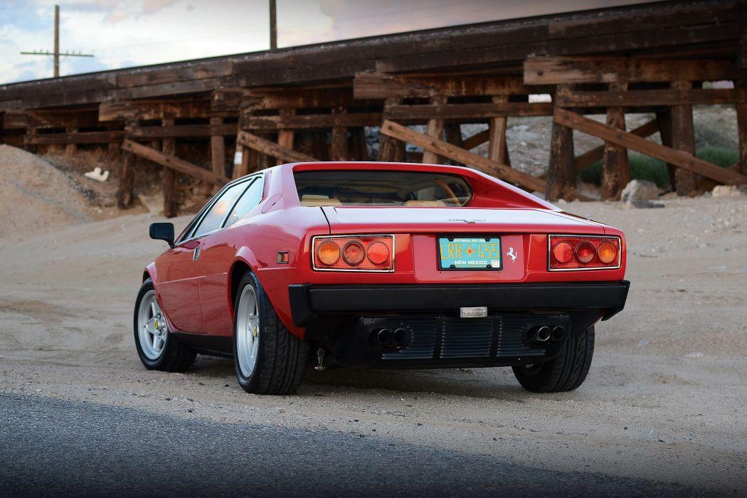 1976-80 Ferrari Dino 308 GT4 US-spec supercar wallpaper