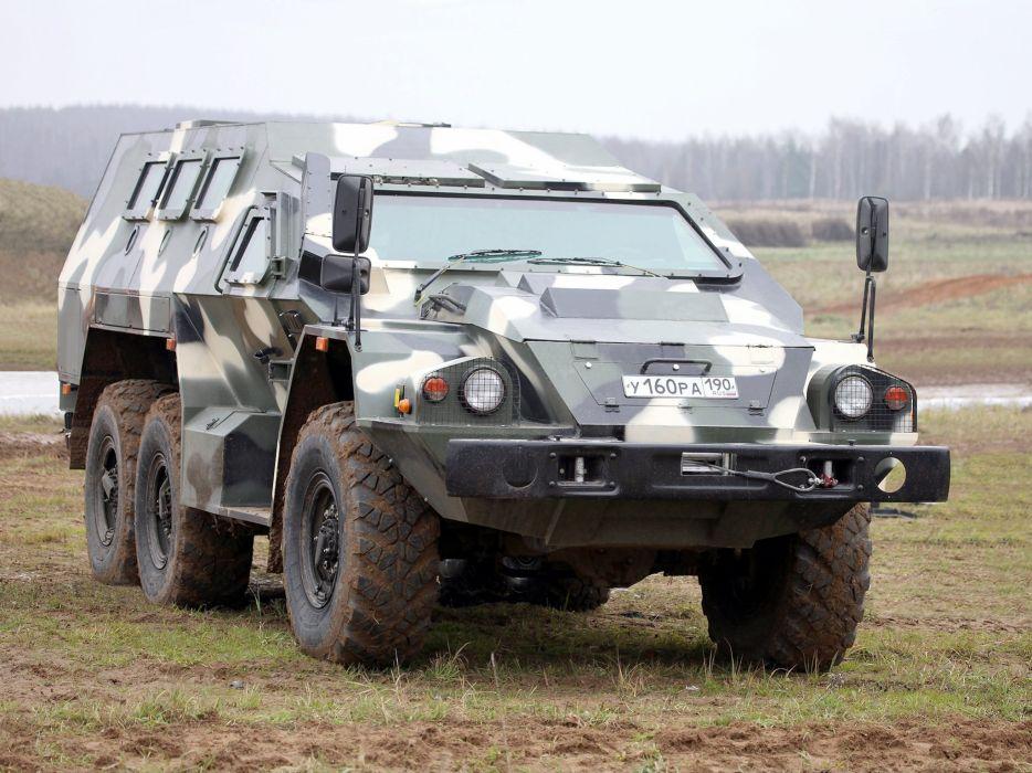 2012 SBA-60K2 Bulat military kamaz armored 6x6 russian police wallpaper