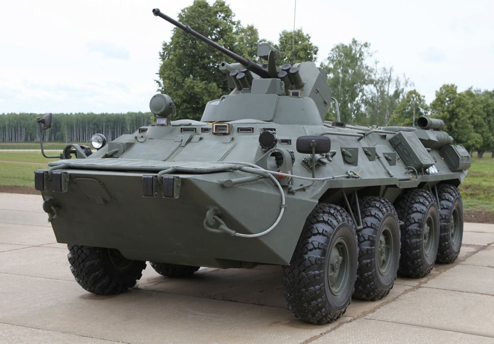 1994 GAZ 59034 APC-82 military 8x8 russian armored wallpaper
