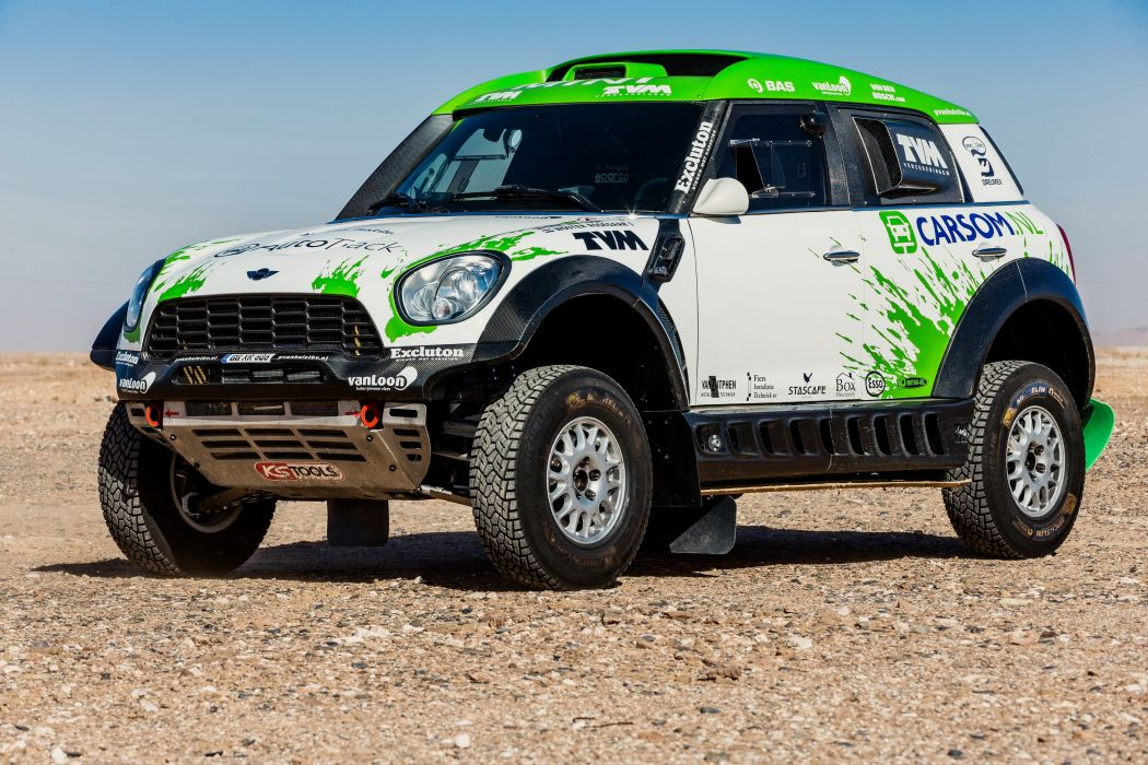 2011 Mini All4 Racing R60 race offroad dakar cooper wallpaper