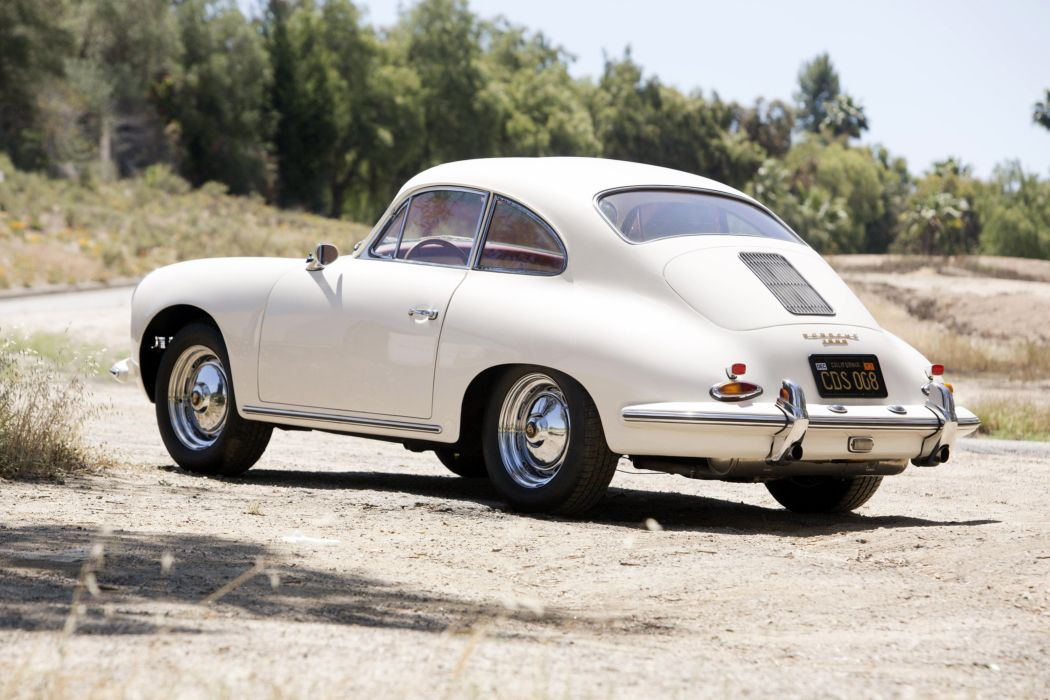 1961 Porsche 356B 1600 Coupe (T-5) classic wallpaper