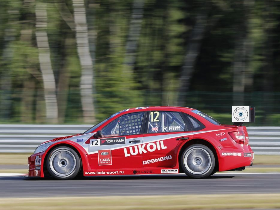2014 Lada Granta TC1 WTCC 2190 race racing wallpaper