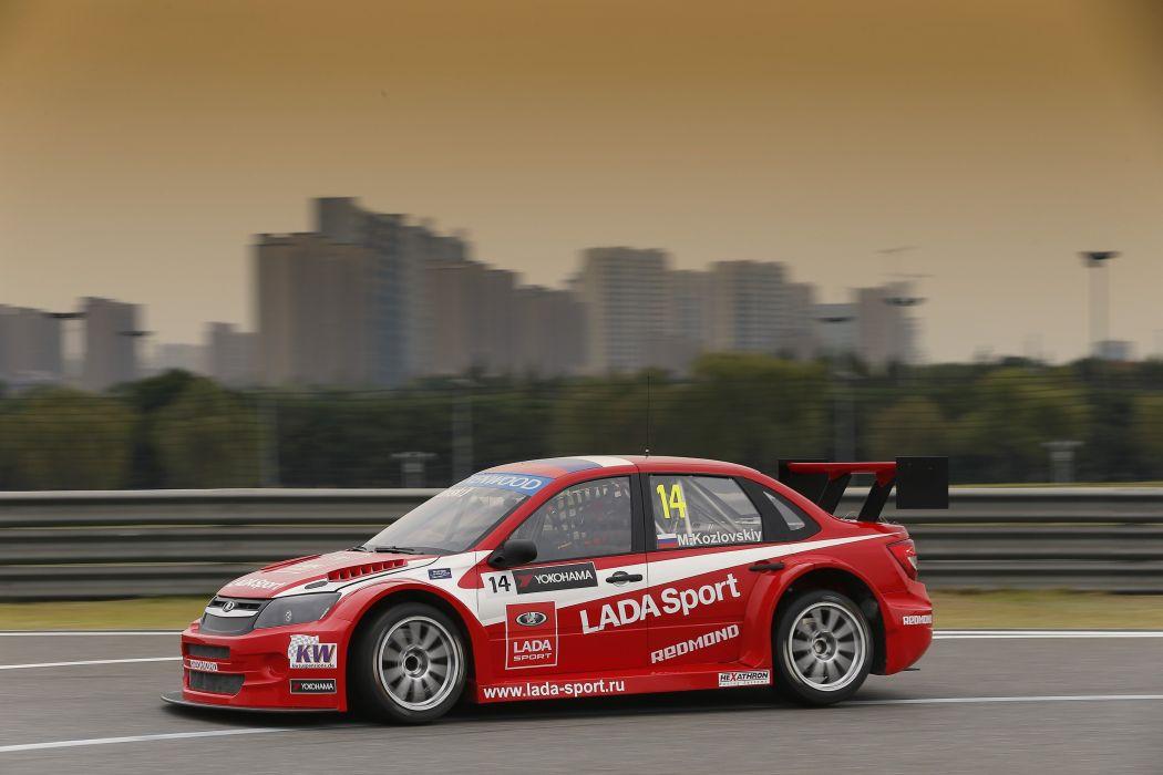 2014 Lada Granta TC1 WTCC 2190 race racing wallpaper