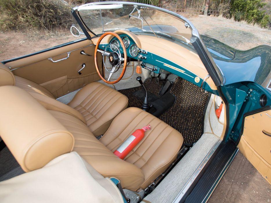 1960 Porsche 356B 1600 Super-90 Cabriolet Drauz (T-5) classic wallpaper