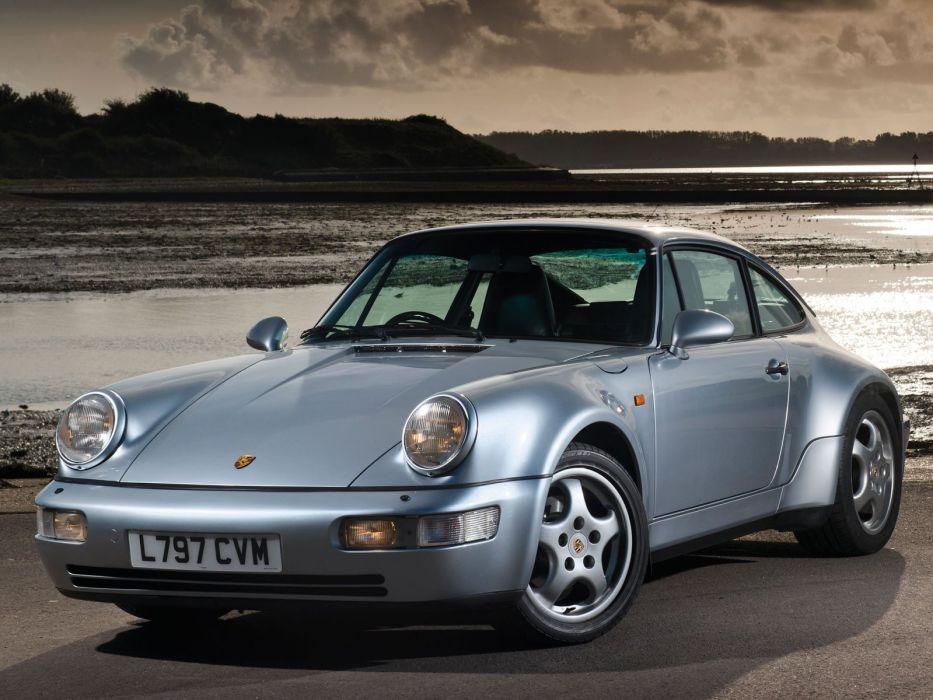 1993 Porsche 911 Carrera 4 Coupe Turbolook UK-spec (964) wallpaper