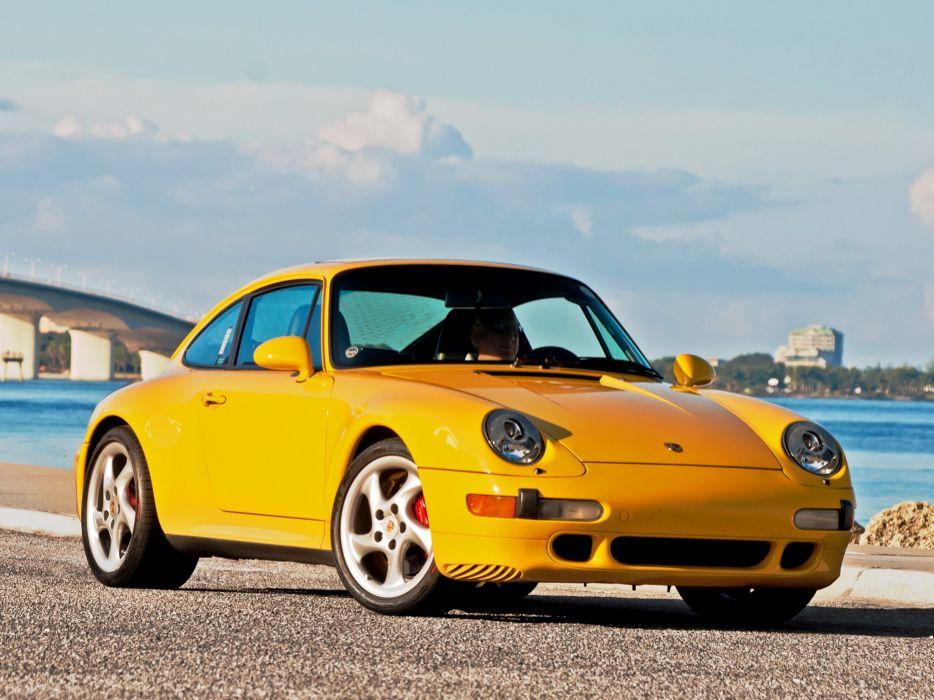 1998 Porsche 911 Turbo Coupe US-spec (993) supercar wallpaper