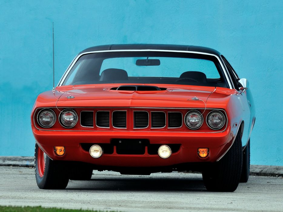 1971 Plymouth Hemi Cuda muscle classic barracuda wallpaper