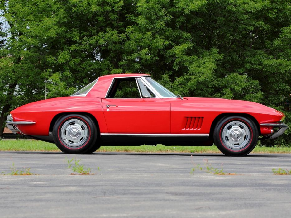 1967 Chevrolet Corvette StingRay L71 427 435HP Convertible (C-2) sting ray muscle supercar wallpaper
