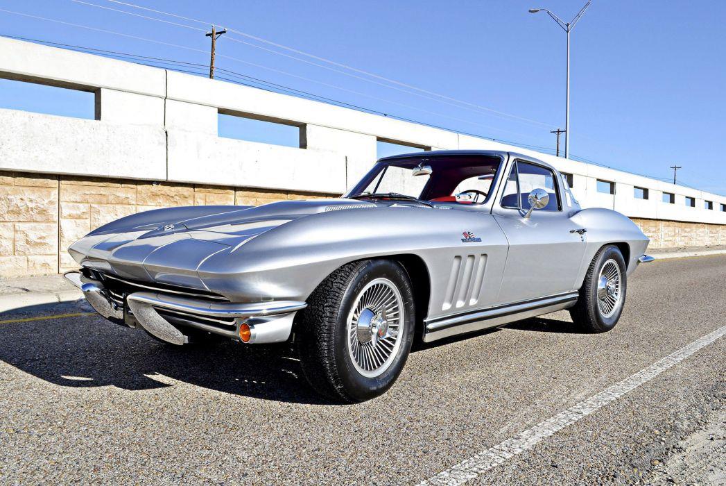 1965 Chevrolet Corvette StingRay L78 396 425HP (C-2) muscle supercar sting ray wallpaper