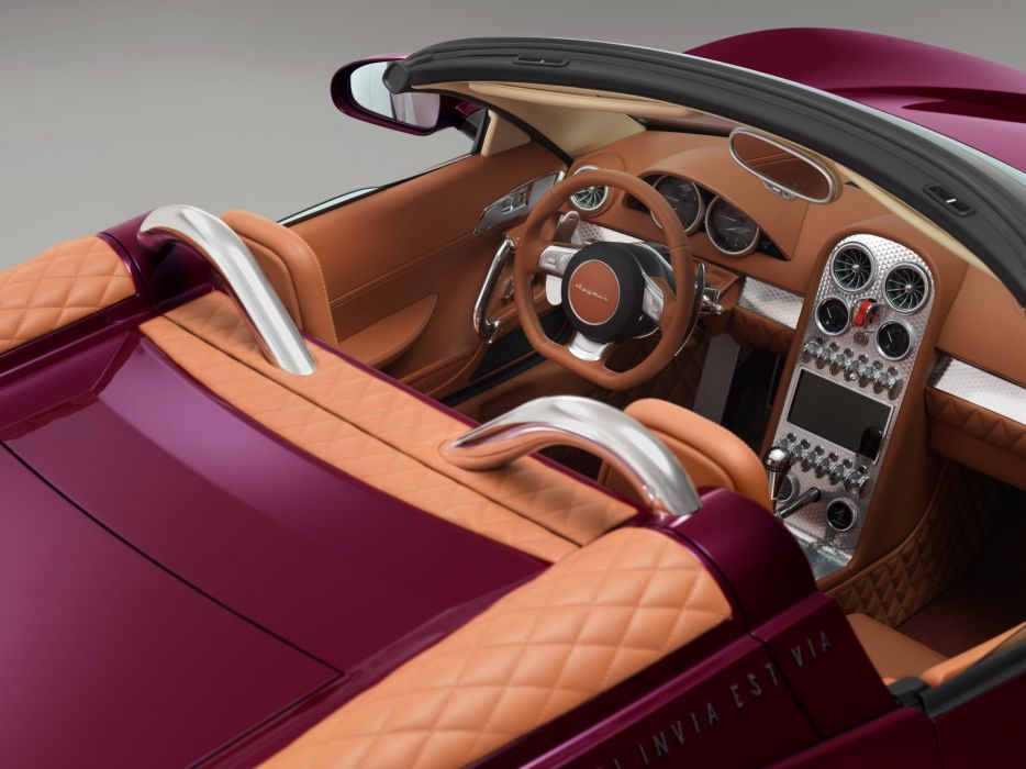 2013 Spyker B-6 Venator Spyder Concept supercar wallpaper