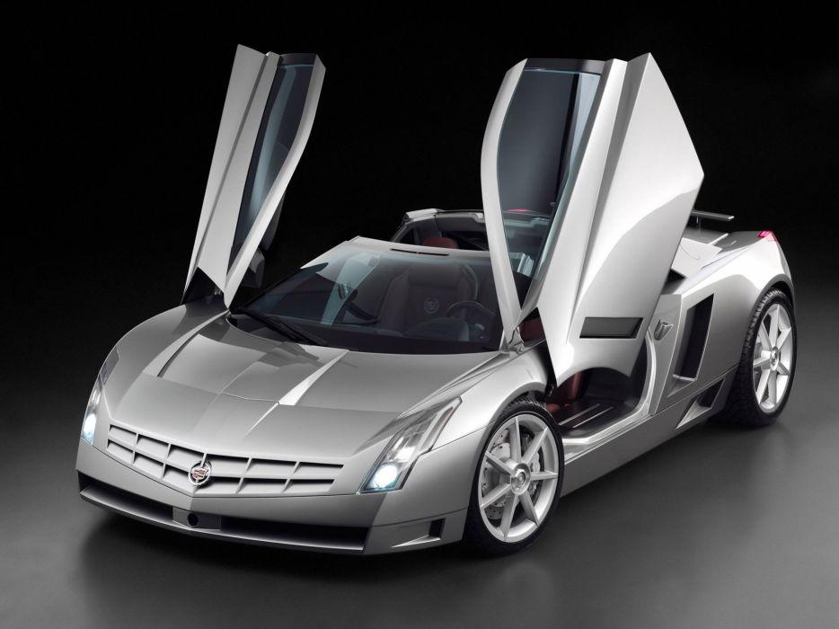 2002 Cadillac Cien Concept supercar wallpaper
