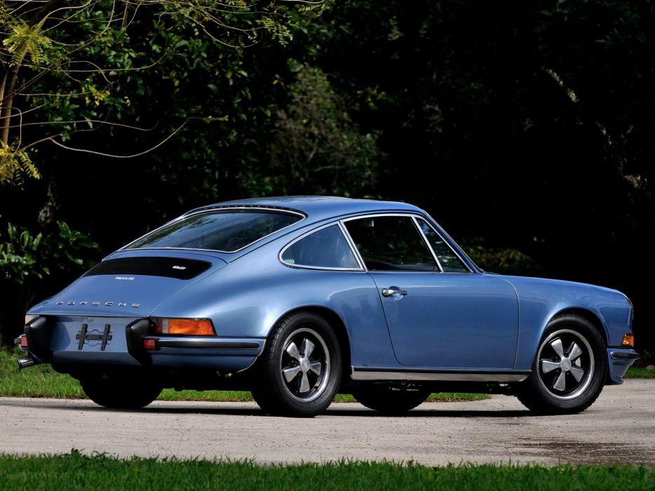 1972-73 Porsche 911S Coupe (911) classic wallpaper
