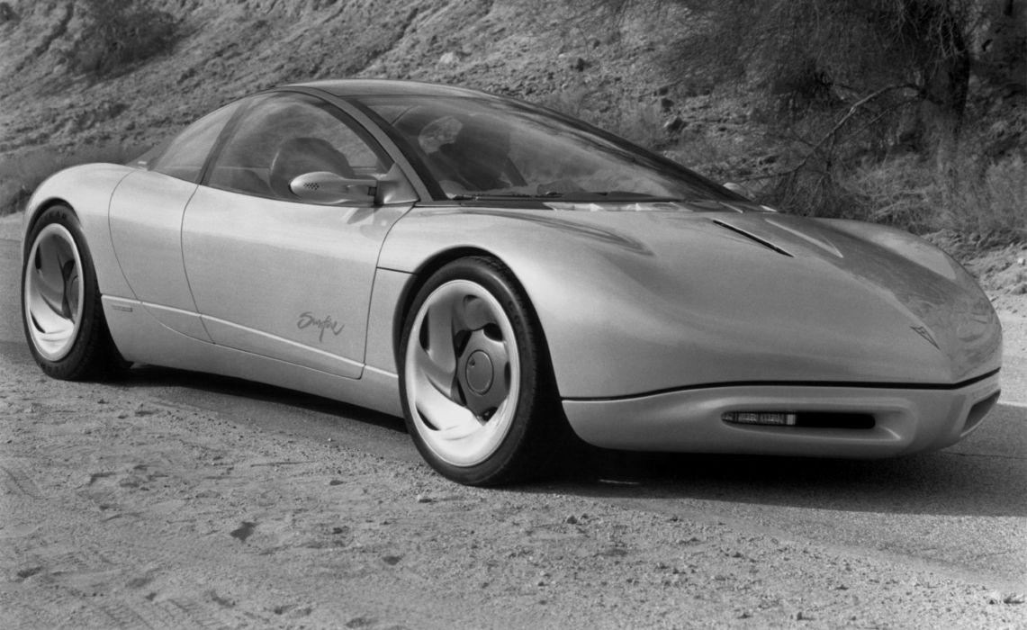 1990 Pontiac Sunfire Concept supercar wallpaper