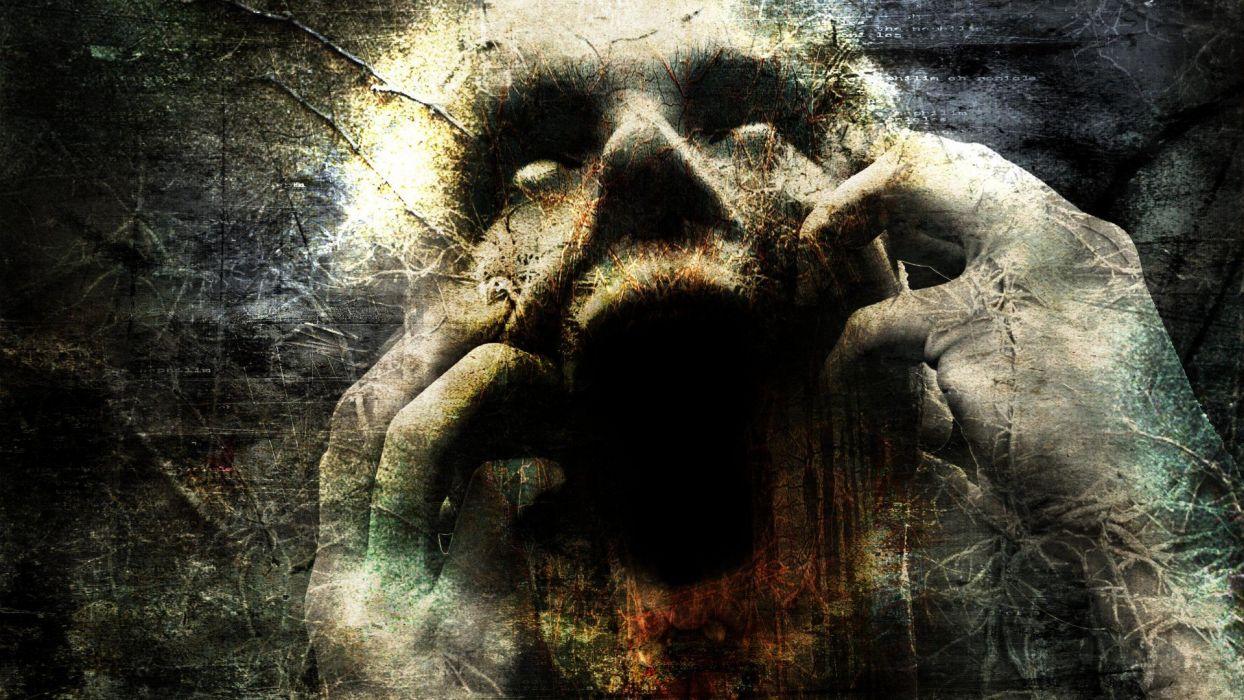 FEAR - horror dark gothic wallpaper