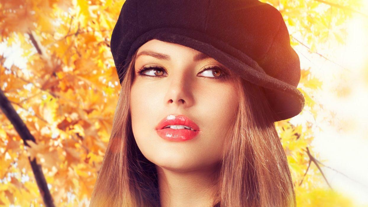 LIPS - face Beautiful Girl wallpaper