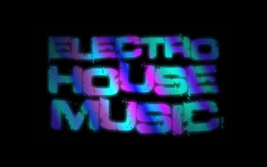 abstract art electro house music wallpaper