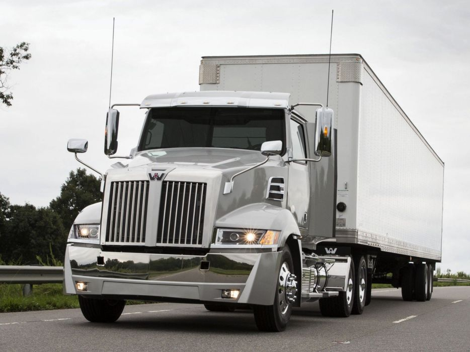 2015 Western Star 5700XE Day Cab semi tractor transport wallpaper