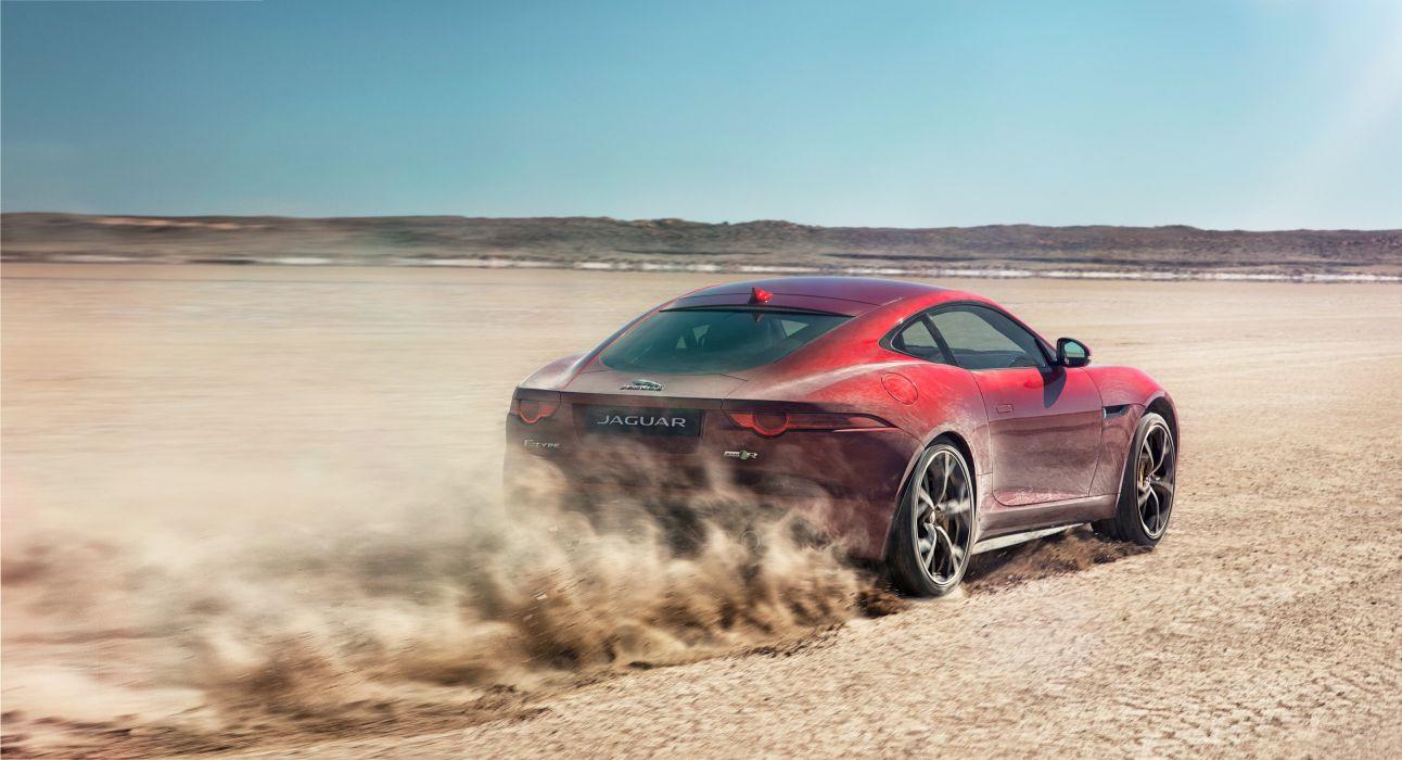 2014 Jaguar F-Type-R Coupe AWD F-Type supercar wallpaper