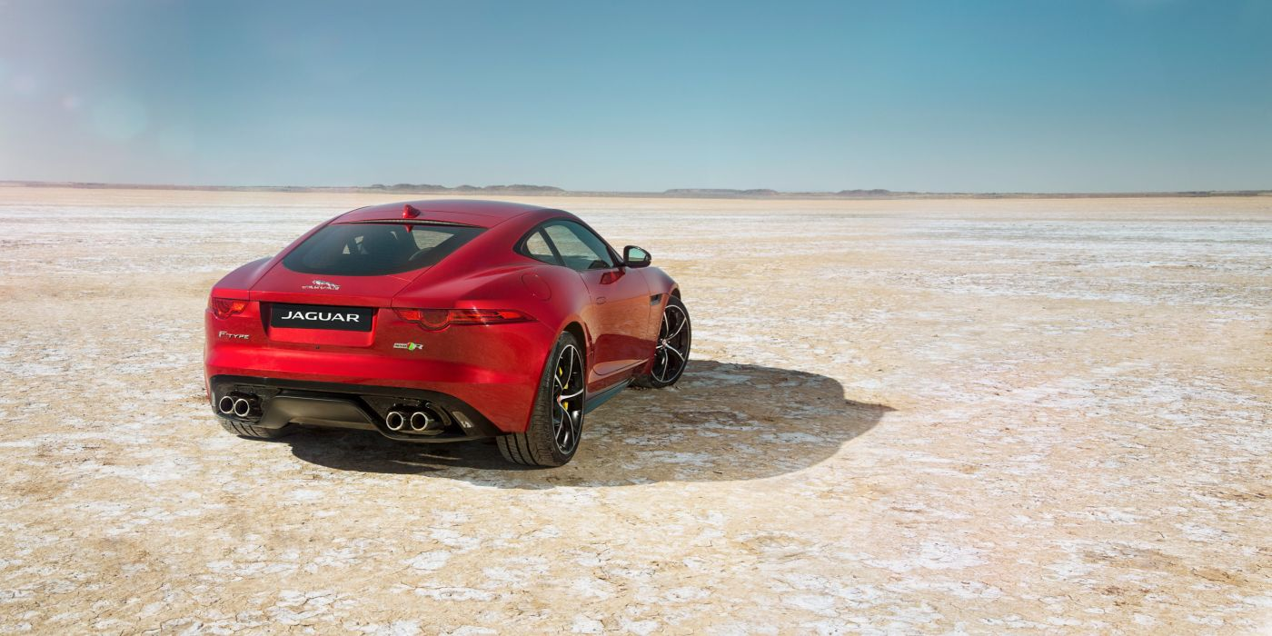 2014 Jaguar F-Type-R Coupe AWD F-Type supercar wallpaper
