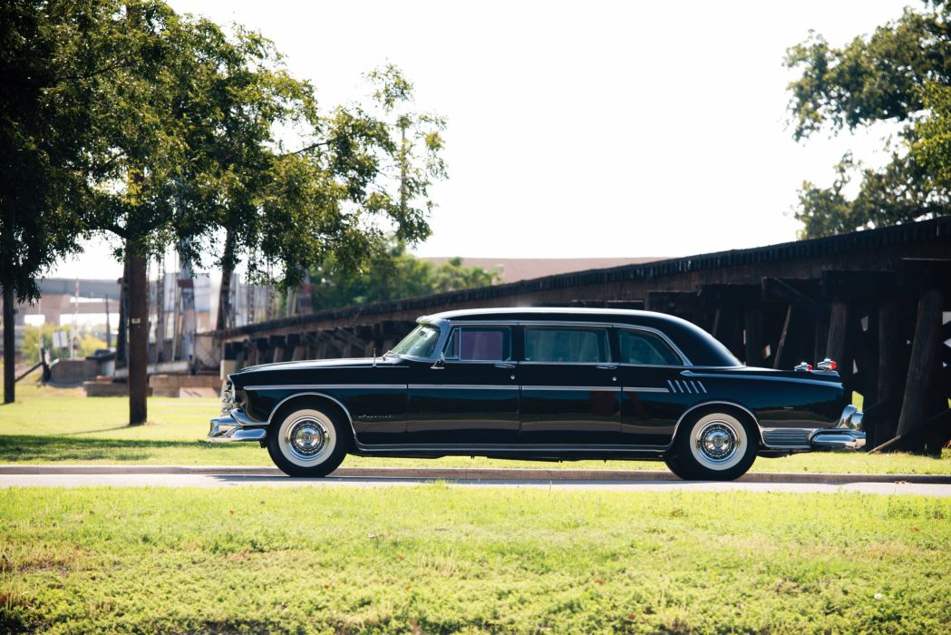 1956 Chrysler Crown Imperial Limousine (C70) luxury retro wallpaper
