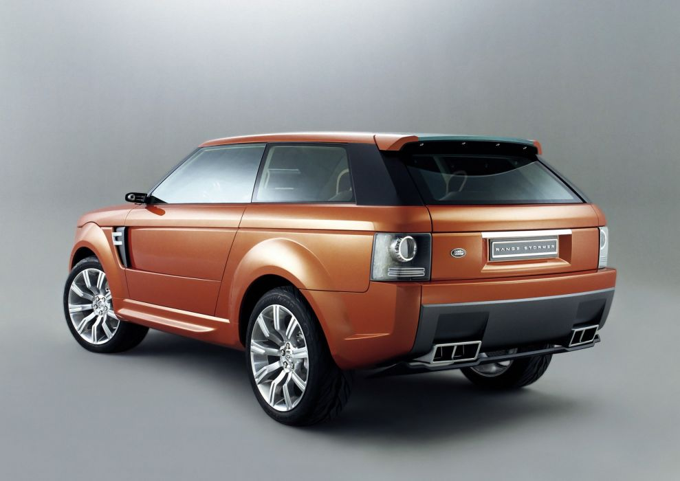 2004 Land Rover Range Stormer Concept suv luxury wallpaper