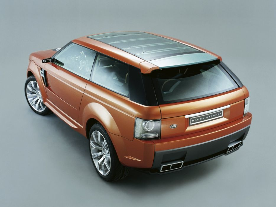 2004 Land Rover Range Stormer Concept suv luxury wallpaper