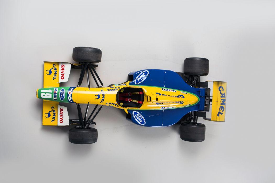 1992 Benetton B191B F-1 formula race racing wallpaper