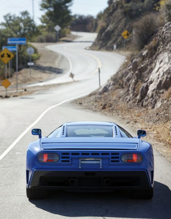 1992-95 Bugatti EB110 G-T supercar wallpaper