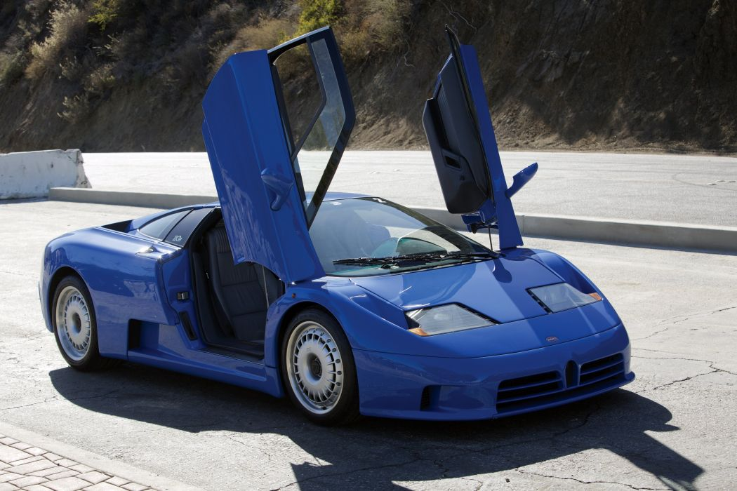 1992-95 Bugatti EB110 G-T supercar wallpaper