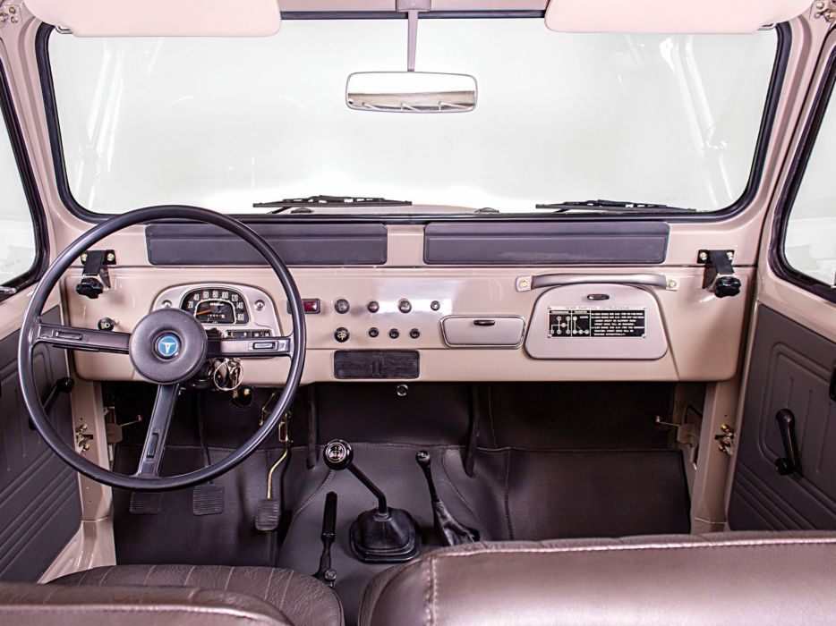 1980 Toyota Land Cruiser Canvas Top (FJ40) 4x4 suv wallpaper
