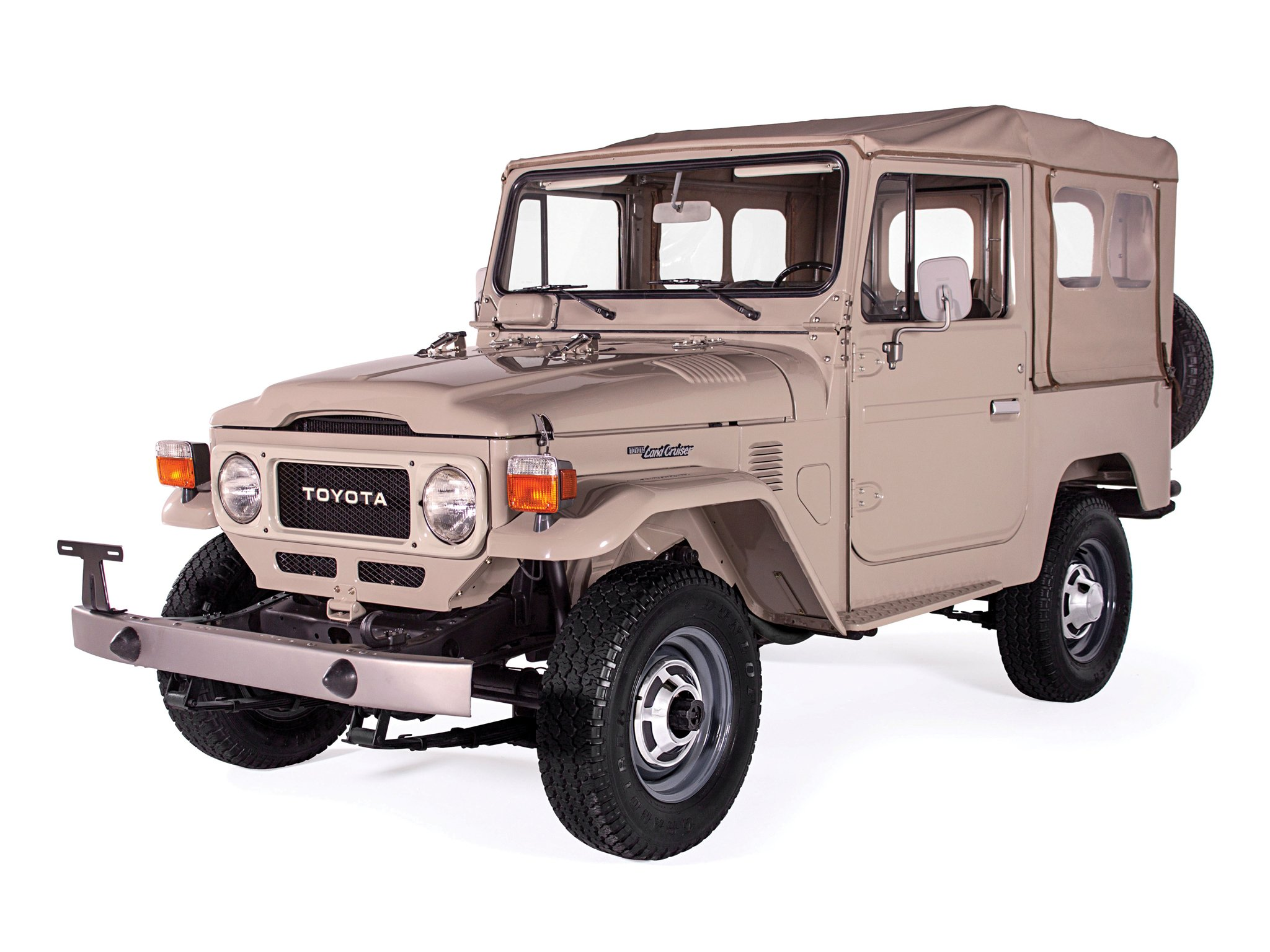 1980 toyota land cruiser canvas top fj40 4x4 suv. Black Bedroom Furniture Sets. Home Design Ideas