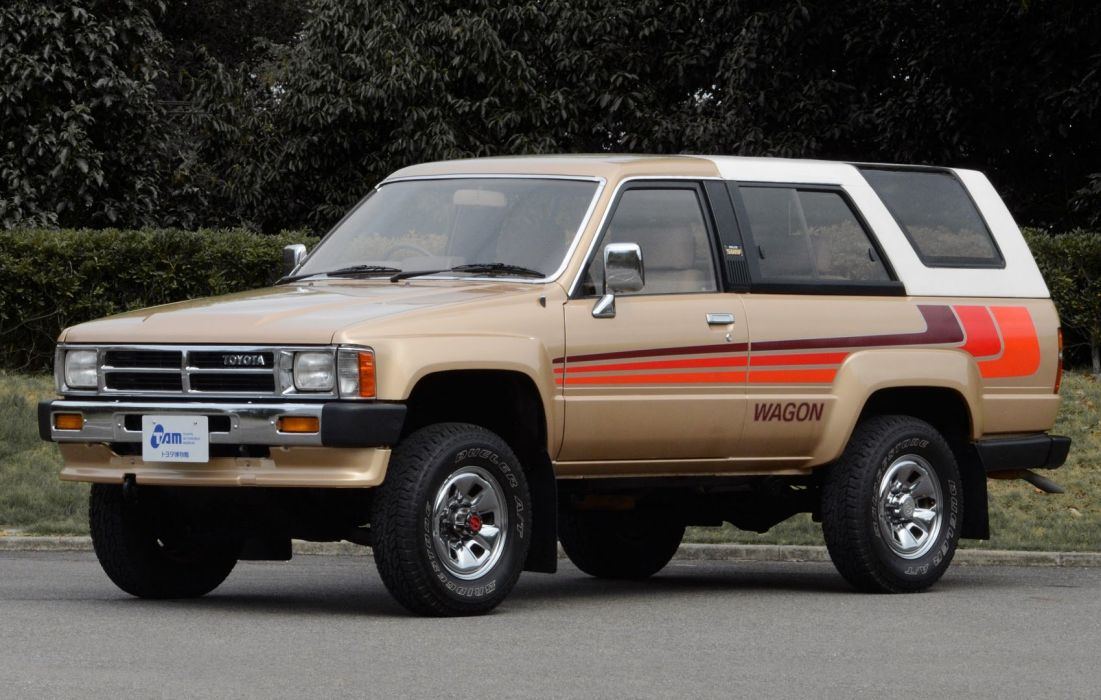1986 Toyota Hilux Surf 4x4 suv frs wallpaper