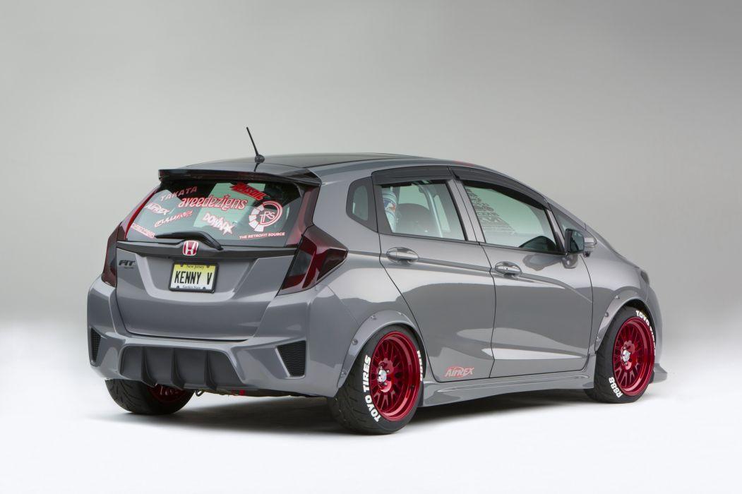 2015 Honda Fit Kenny Vinces tuning wallpaper