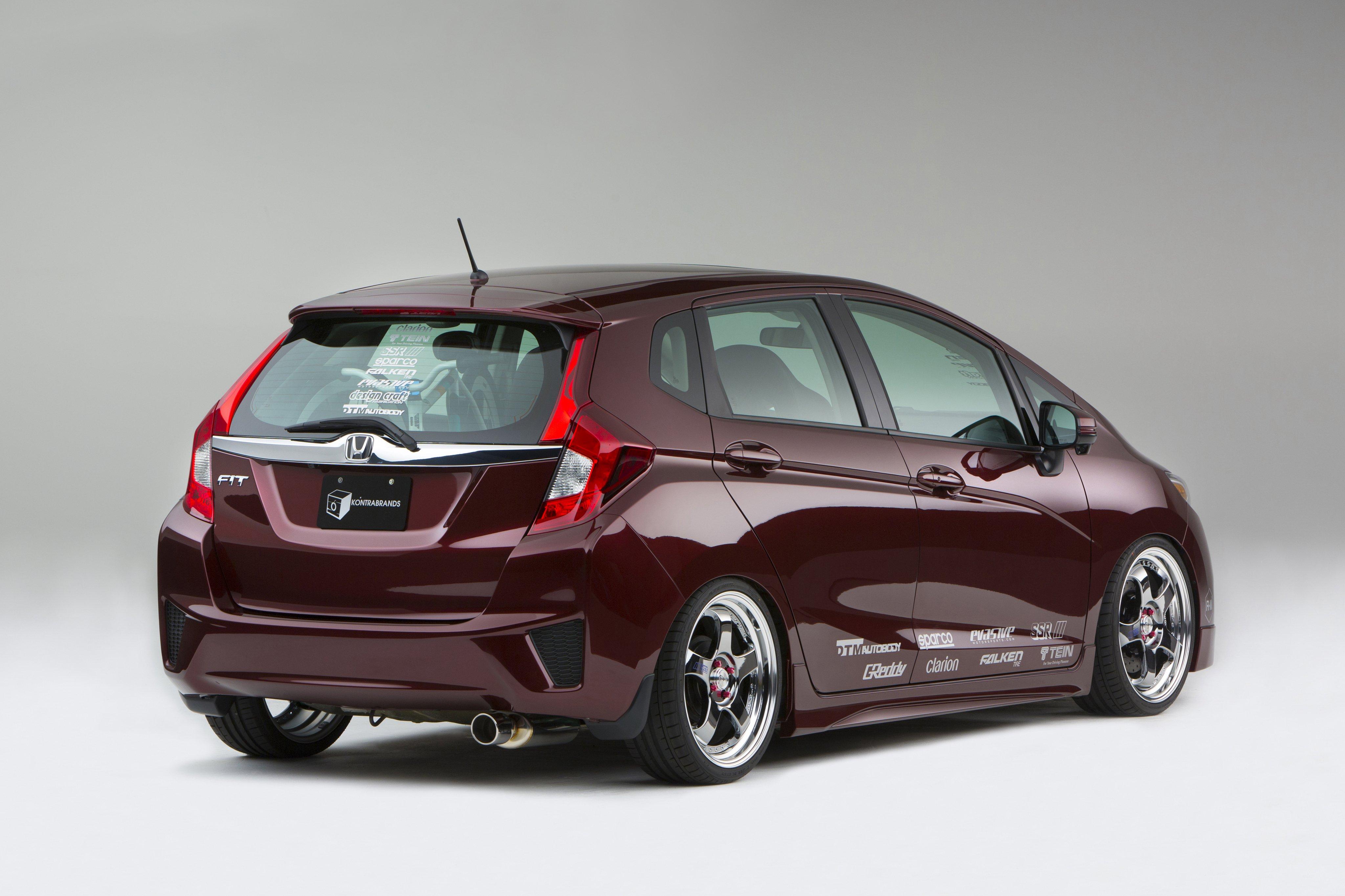 2015 Kontrabrands Honda Fit Aml Tuning Wallpaper