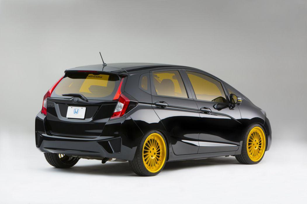 2015 MAD-Industries Honda Fit tuning wallpaper