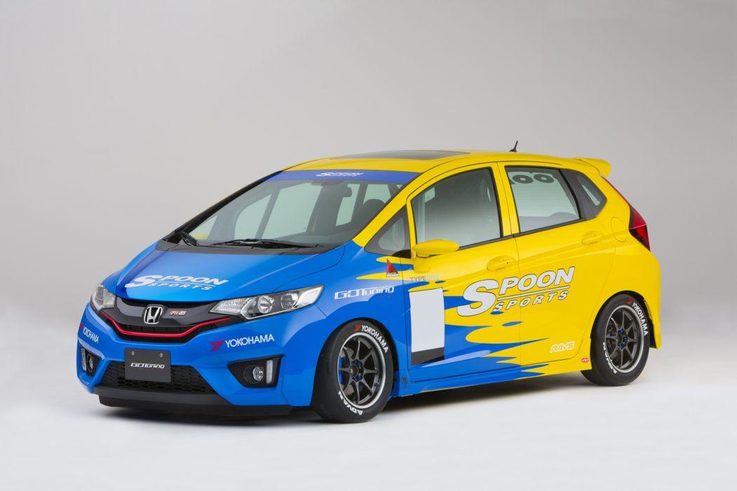 2015 Spoon-Sports Honda Fit Super Taikyu tuning wallpaper