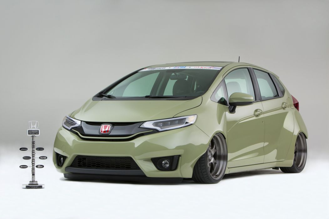 2015 Honda Fit Kylie Tjin tuning wallpaper