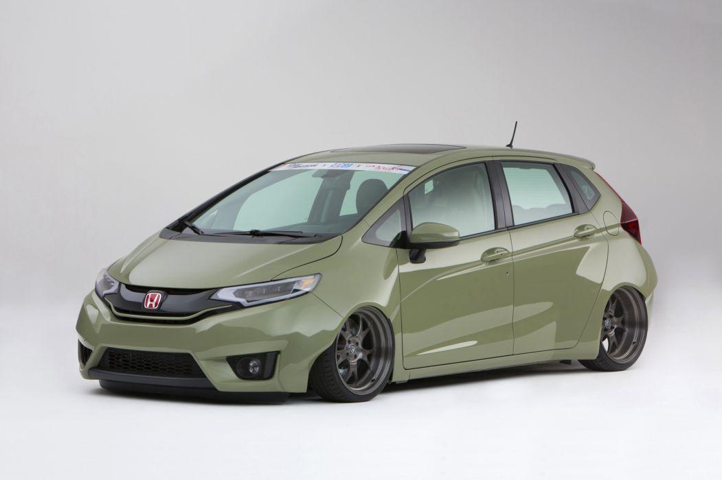 2015 Honda Fit Kylie Tjin tuning wallpaper