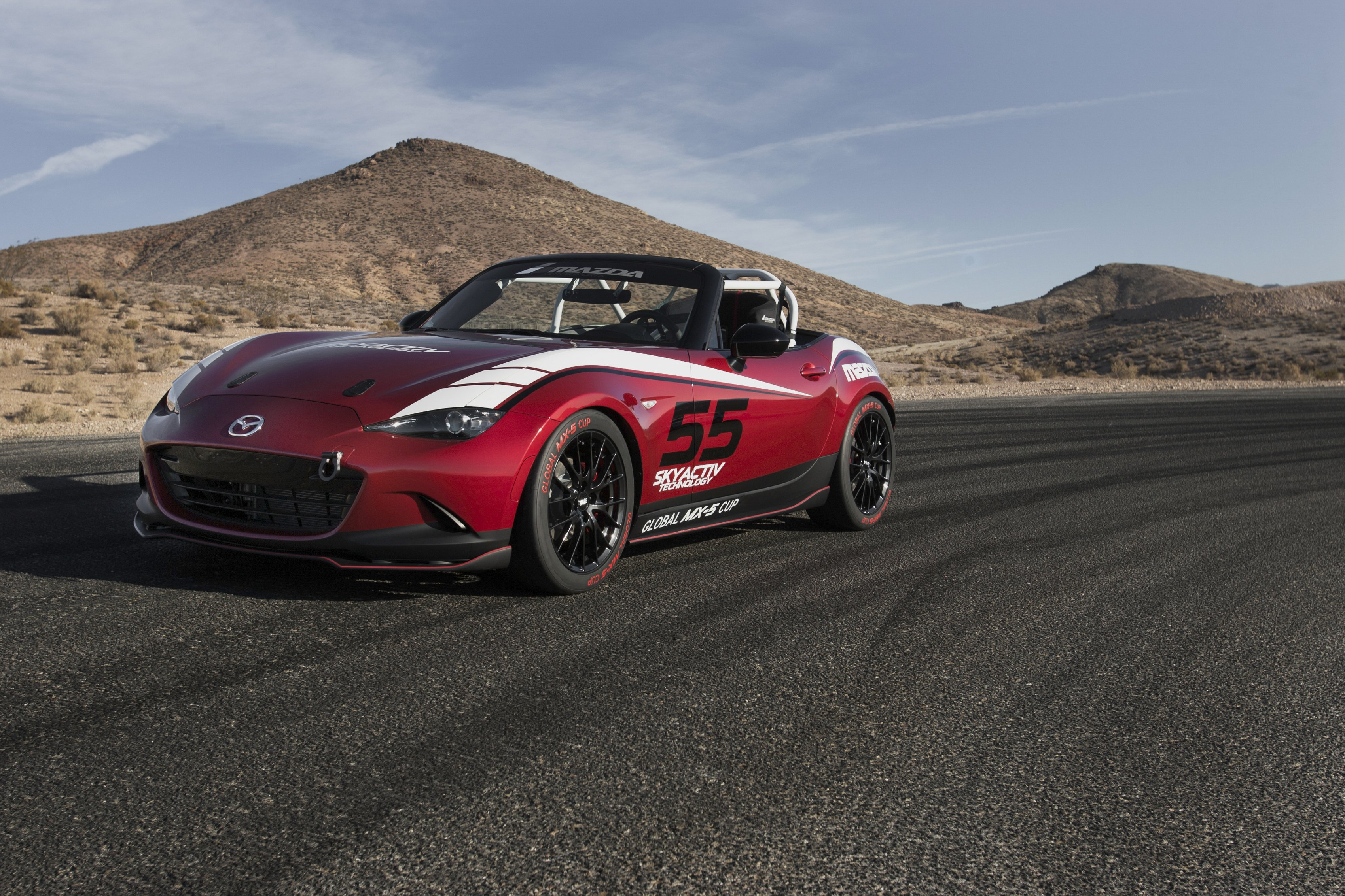 2014 mazda mx 5 cup concept n d race racing tuning. Black Bedroom Furniture Sets. Home Design Ideas
