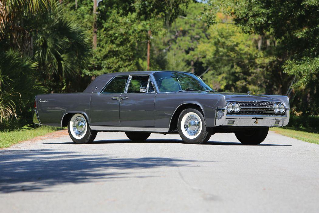1962 Lincoln Continental Sedan (53A) luxury classic wallpaper