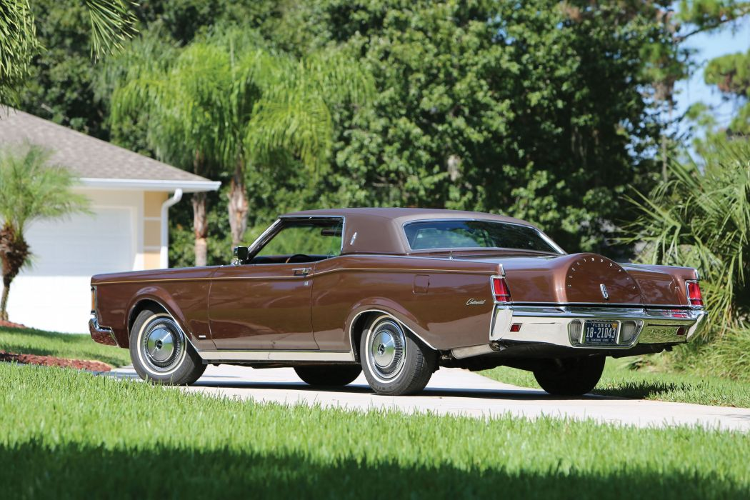 1971 Lincoln Continental Mark-III luxury classic wallpaper
