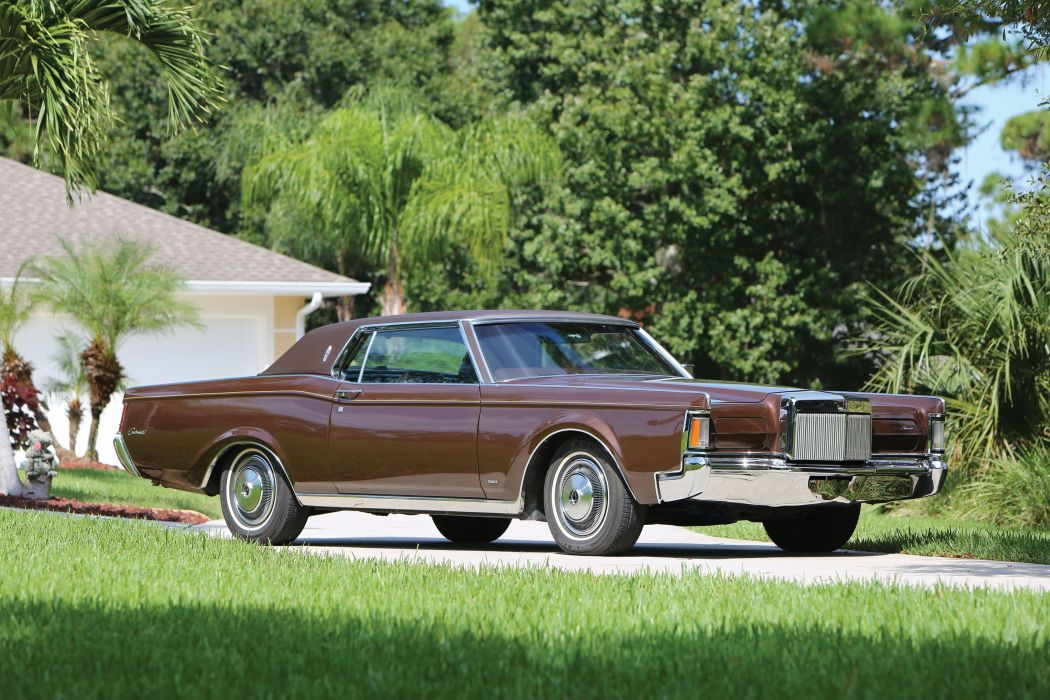 1971 Lincoln Continental Mark-III luxury classic wallpaper