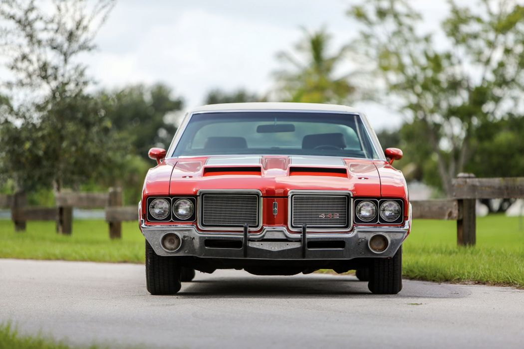 1972 Oldsmobile Cutlass 442 W30 Hardtop Coupe muscle classic wallpaper