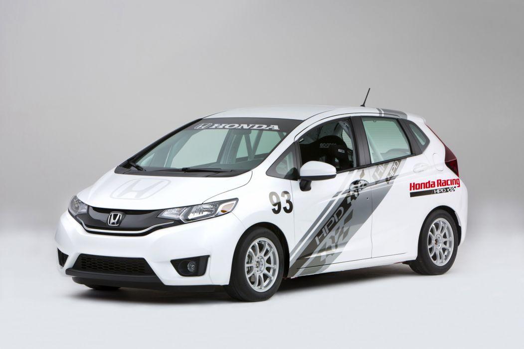 2015 Honda Fit HPD B-Spec Race Car Concept racing tuning wallpaper
