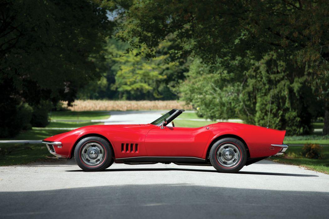 1968 Chevrolet Corvette L71 427 435HP Convertible (DA-3) muscle supercar classic wallpaper