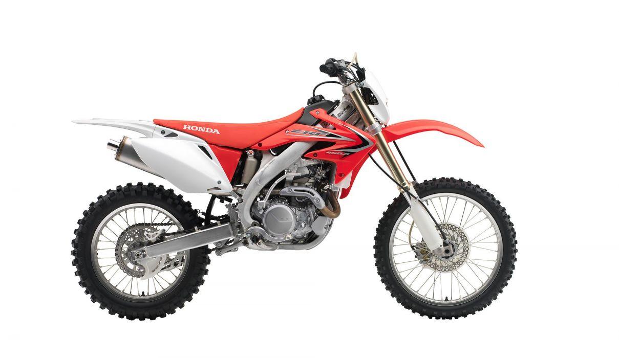 2015 Honda CRF450X dirtbike wallpaper