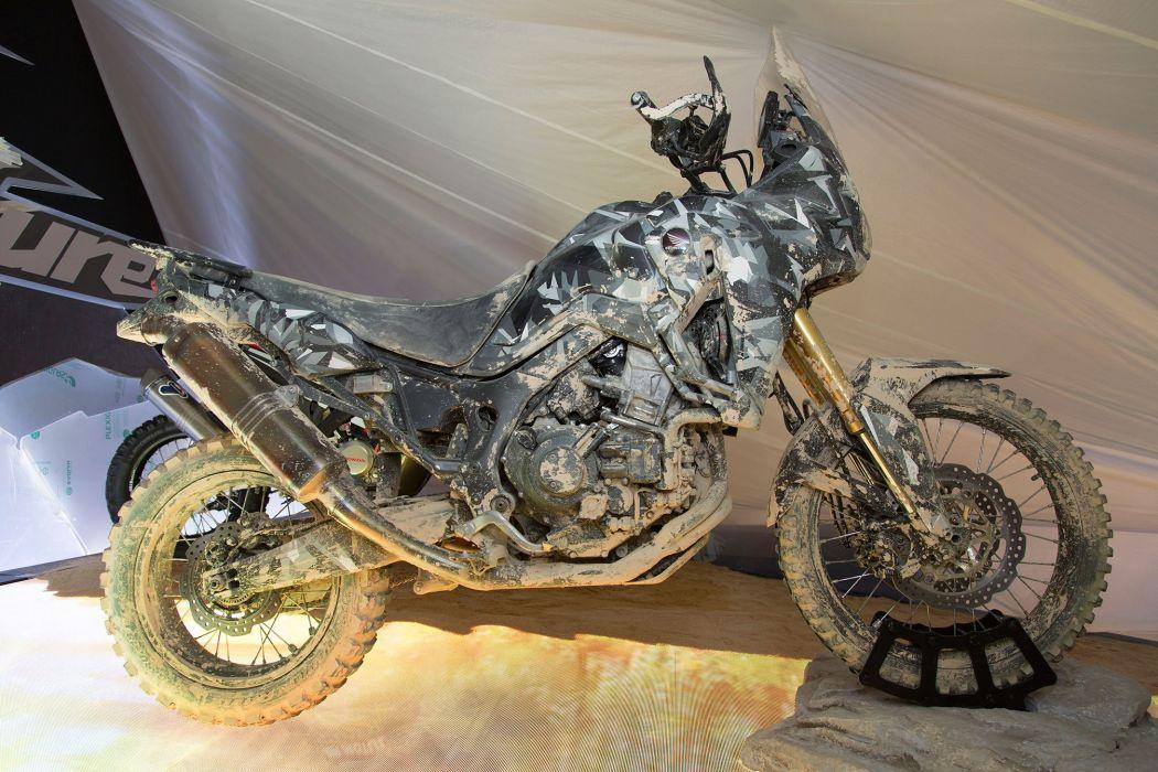 2015 Honda True Adventure Prototype dirtbike offroad wallpaper