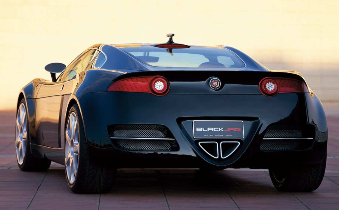 2004 Jaguar BlackJag Concept supercar wallpaper