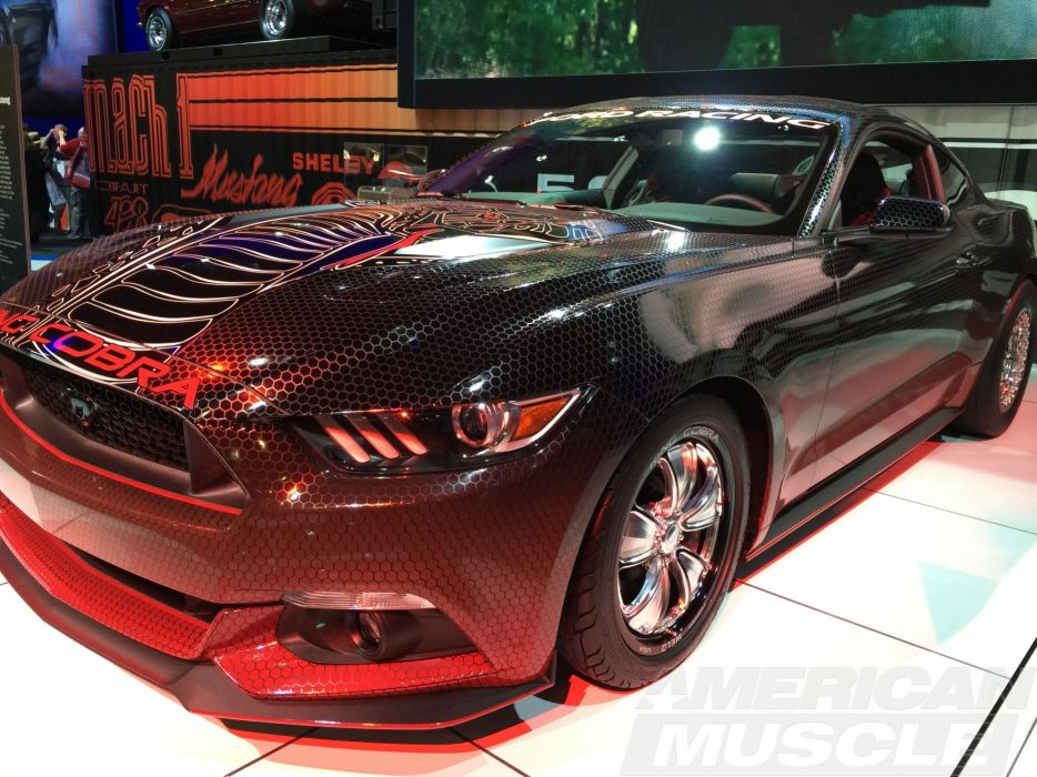 2015 Ford Mustang G-T King Cobra Concept muscle wallpaper